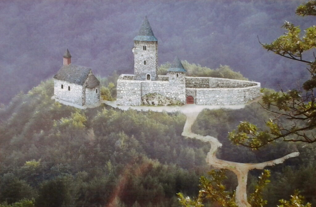 Stari grad Žumberak s crkvom Sv. Križa
